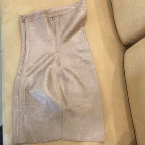 Marciano Guess Dress - Gold size XS